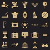 Medic Icons Set. Simple Set Of 25 Medic Icons For Web For Any Design poster