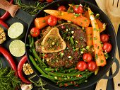 picture of beef shank  - Osso buco  - JPG