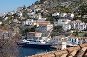 stock photo of argo  - Hydra is one of the Greek islands lying in the archipelago called the Argo - JPG