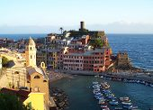 Afterglow In Vernazza
