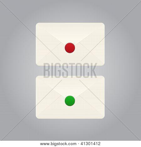 Conjunto de vectores de sobres
