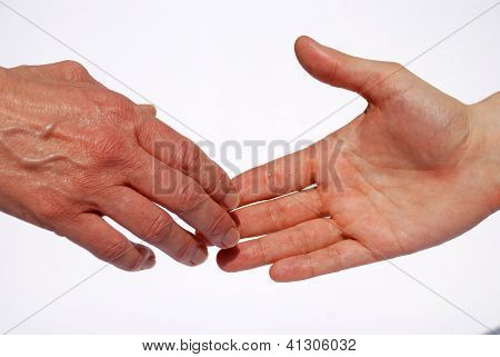 Two Hands, Handshake