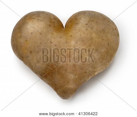 Heart shaped Potato.