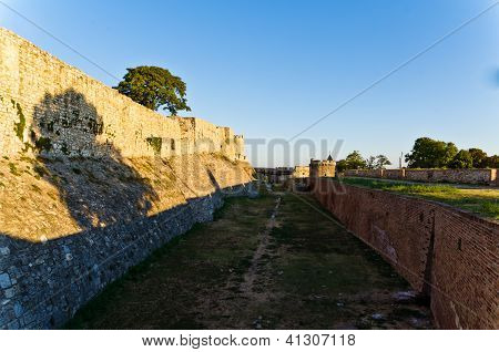 Eastern wall of Kalemegdan fortress, Belgrade