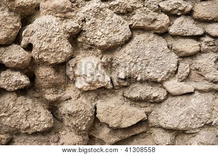 Conglomerate Stone Wall