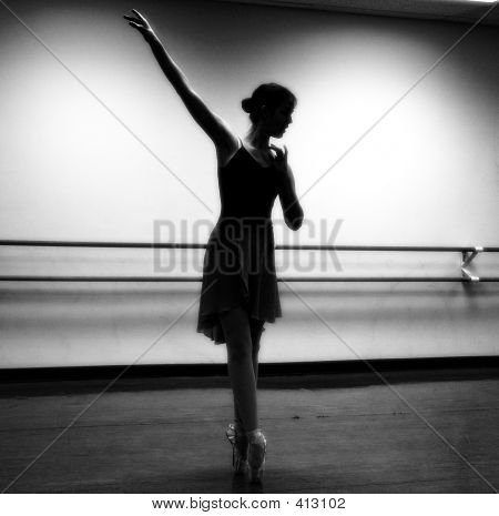 Dancer On Pointe