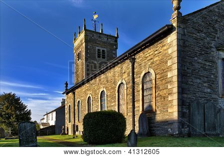 St Anne's Church, Ings, Cumbria.
