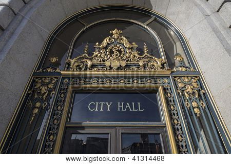SAN FRANCISCO, CALIFORNIA - JAN 14:  Historic City Hall.  The city's Board of Supervisors approved a first ever two year balanced budget for 2012-2014 on January 14, 2013 in San Francisco, CA.