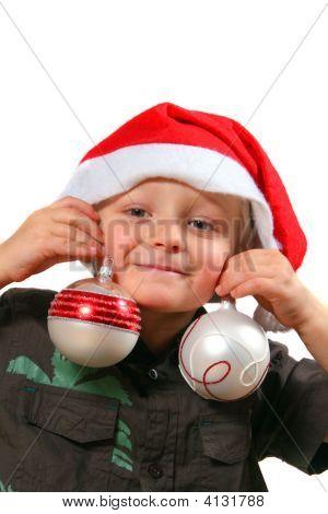 Funny Christmas Boy