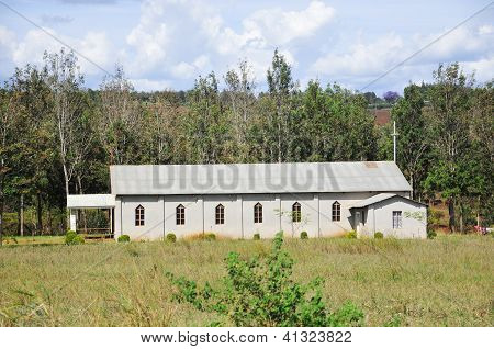 An old church in rural Arusha regionTanzania