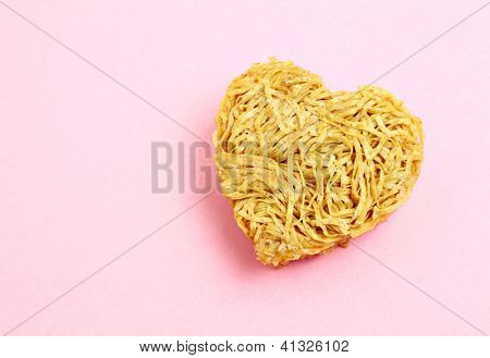 heart sharp noodle