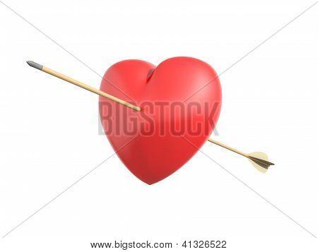 Smitten Heart By Cupid