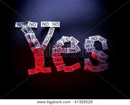 Yes Means No
