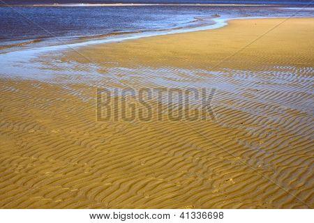 Water And Beach  In Rio De La Plata