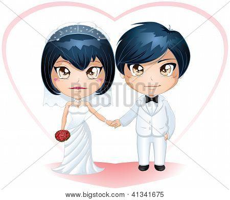 Bride And Groom Getting Married 3
