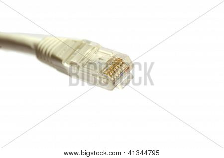 Grey Internet Cable