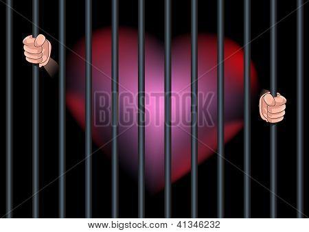 Imprison Heart Feel In Love.