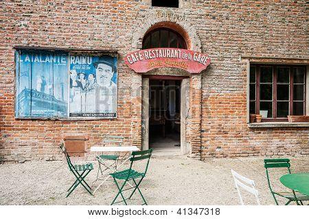 Orient Express Station Cafe, France.