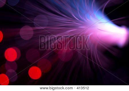 Purple Rays Explosion