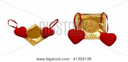 Hearts And Condoms