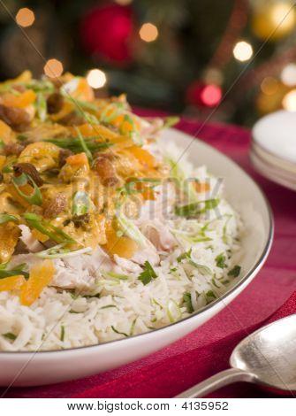 Coronation Turkey Rice Salad