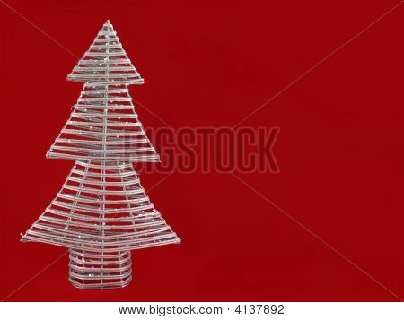 Handmade Christmas Tree Background