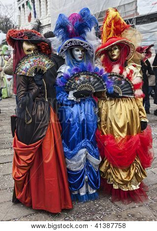 Colorful Venetian Costumes