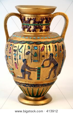 Antique Arab Or Ancient Egyptian Vase