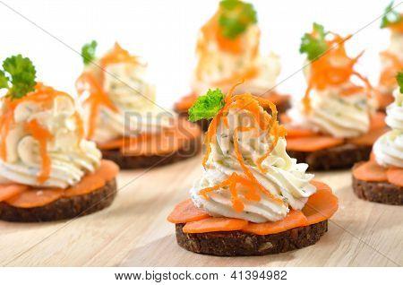 Aperitivos de queso