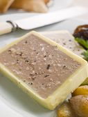 stock photo of charcuterie  - Charcuterie and Haricot Blanc Ragout - JPG