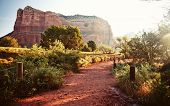 Red rock mountains in Sedona at morning