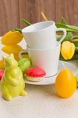 picture of easter_break  - easter breakfast concept - JPG