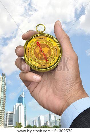 Business Compass Concept