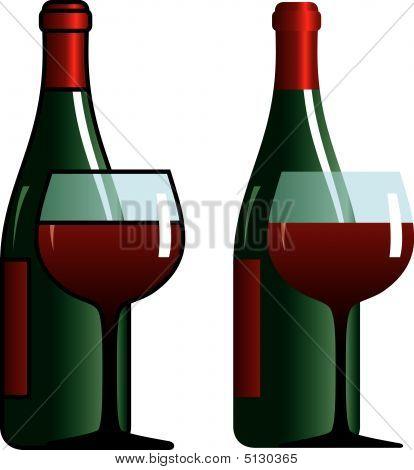 Bottle&glass