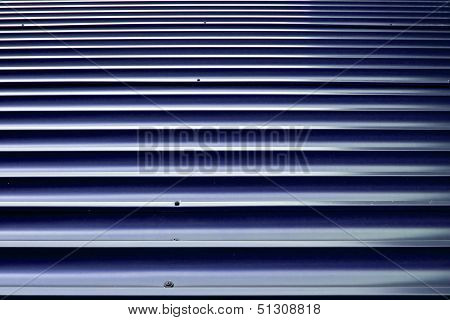 Brown Orrugated Steel Sheet