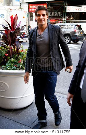 NEW YORK-SEP 23: Actor Galen Gering attends the 'Days of our Lives: Better Living' book tour on September 23, 2013 in New York City.