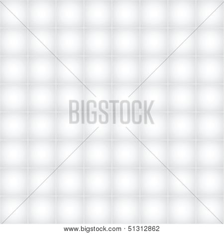 Vector Seamless Light Gray Monochrome Pattern - Abstract Background