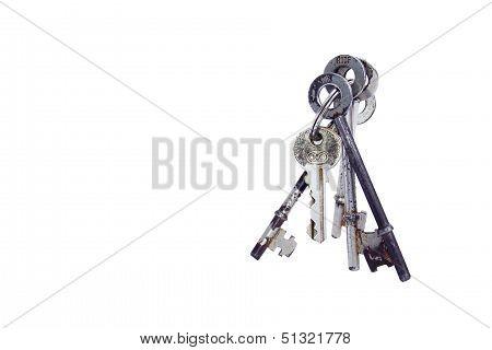 Bunch Of Assorted Keys