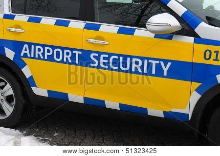 Airport Security Car