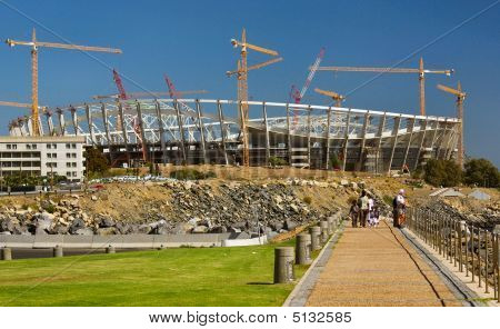 Green Point Stadium Construction,capetown,south Africa