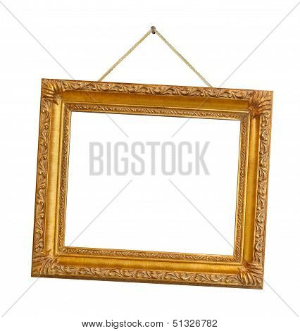 Retro Frame On String