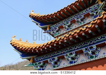 Temple Architectural Style Eaves