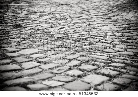 Cobblestoned Road