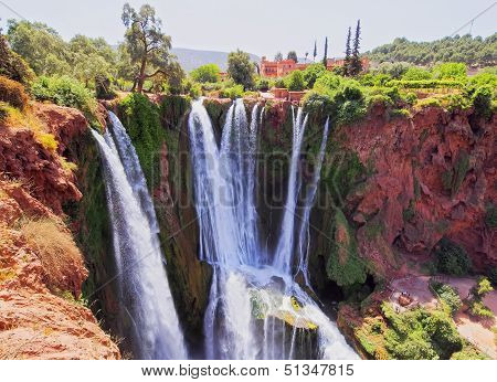 Ouzoud Waterfalls In Morocco