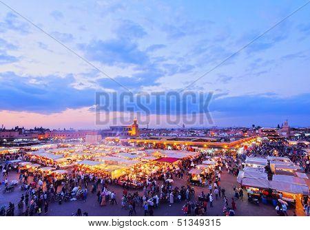 Jamaa El Fna, Marrakech
