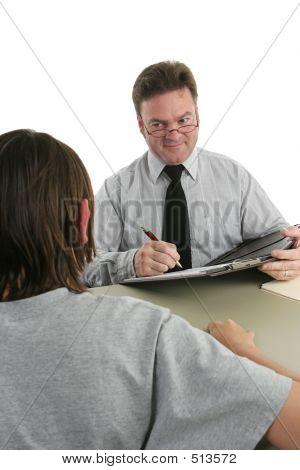 Guidance Counselor - Listening