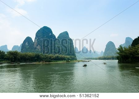 The Scenery Of Guilin, China