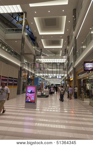 Mall Of America Shopping Area In Bloomington, Mn On July 06, 2013