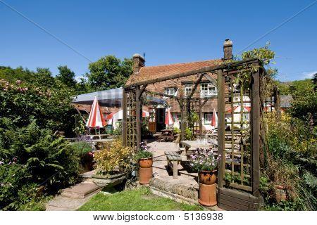 Traditional English Pub Garden