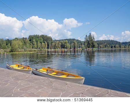 Lake Schwarzsee,Kitzbuehel,north Tirol,Austria